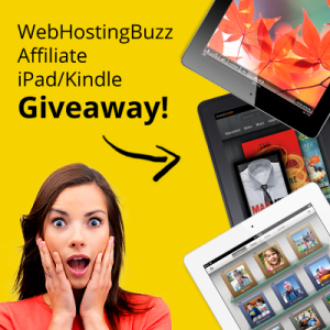 WebHostingBuzz affiliate giveaway