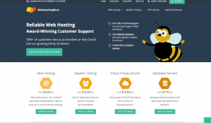 WebHostingBuzz US New Website Design